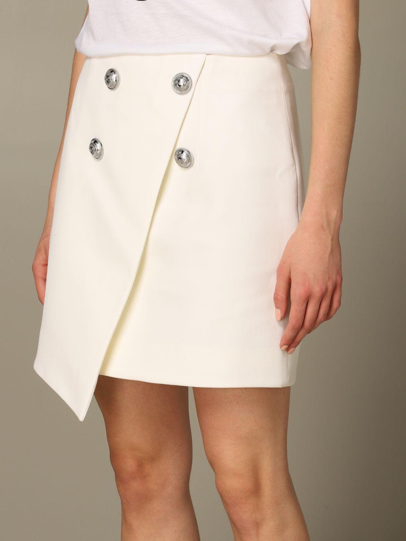 Skirt Balmain: Skirt women Balmain white 3