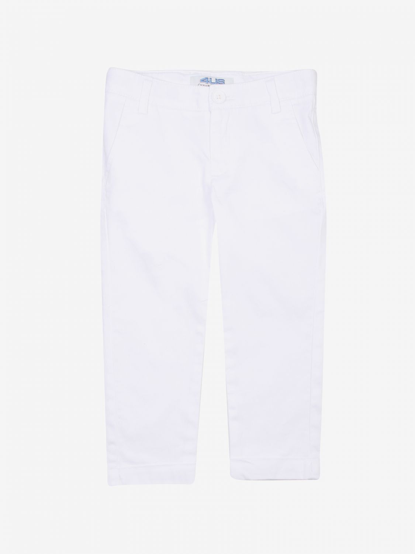 Pantalone Paciotti: Pantalone bambino Paciotti bianco 1