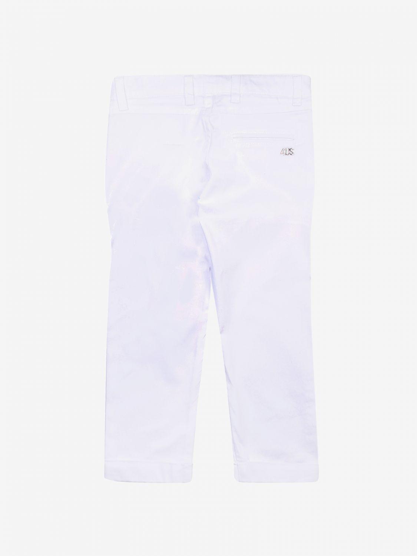 Pantalone Paciotti: Pantalone bambino Paciotti bianco 2