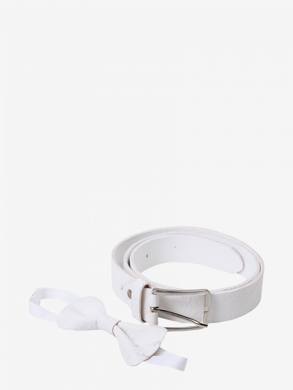 Cintura Paciotti: Cintura bambino Paciotti bianco 1