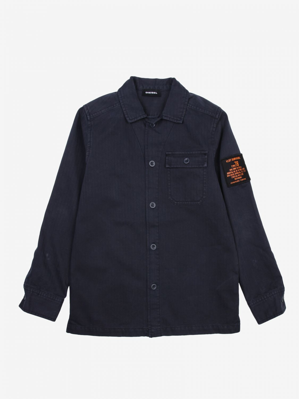 Camicia Diesel: Camicia bambino Diesel blue 1