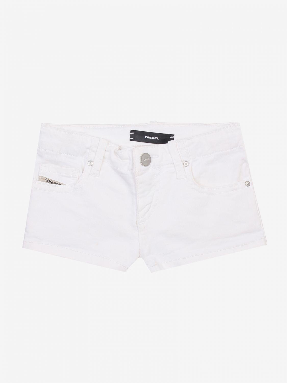 Pantaloncino Diesel: Pantaloncino bambino Diesel bianco 1