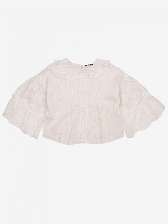 Camicia Diesel: Camicia bambino Diesel ecru 1
