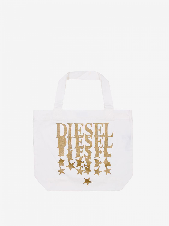 Borsa Diesel: Borsa bambino Diesel bianco 1