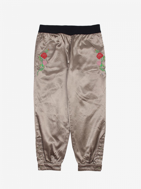 Pantalone Diesel: Pantalone bambino Diesel grigio 1