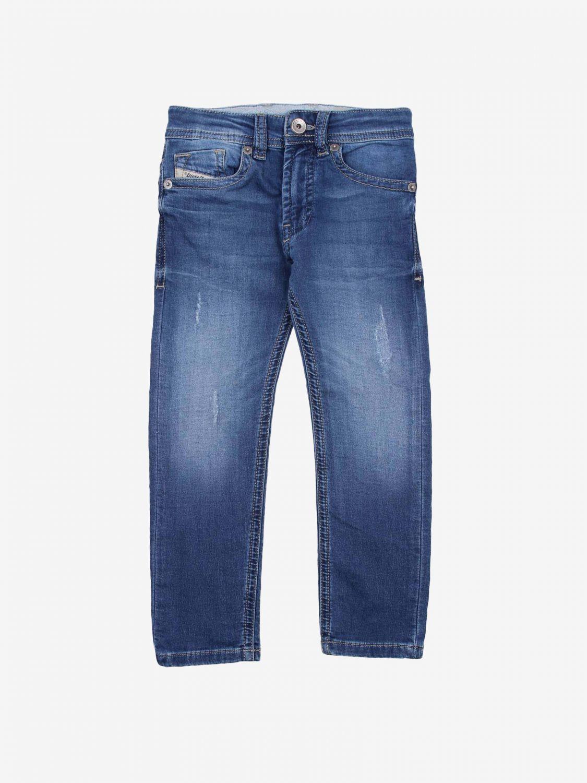 Pantalone Diesel: Pantalone bambino Diesel denim 1