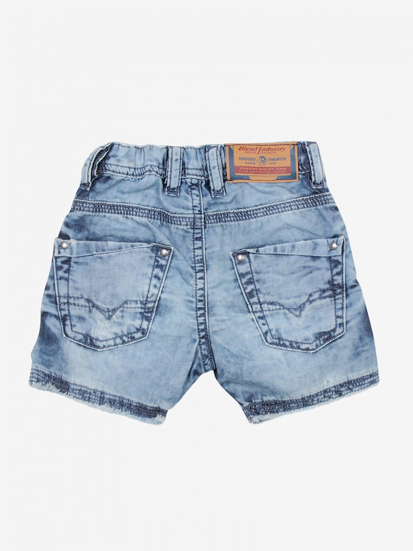 Pantaloncini Diesel: Pantaloncini bambino Diesel denim 2