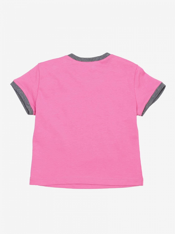T-shirt Diesel: T-shirt bambino Diesel rosa 2