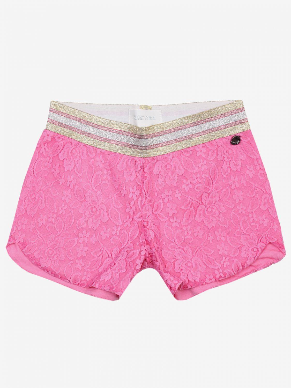 Pantaloncino Diesel: Pantaloncino bambino Diesel rosa 1