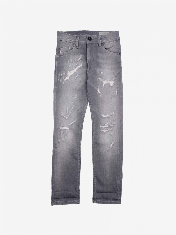 Pantalone Diesel: Pantalone bambino Diesel nero 1