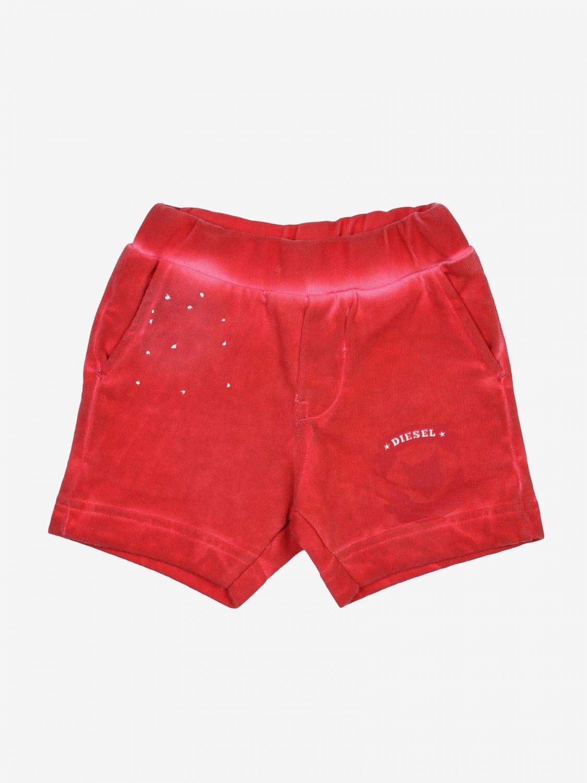 Pantaloncini Diesel: Pantaloncini bambino Diesel rosso 1
