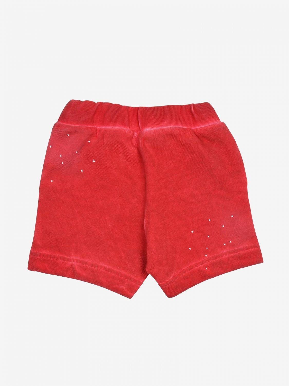 Pantaloncini Diesel: Pantaloncini bambino Diesel rosso 2