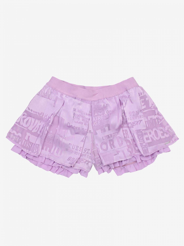 Pantaloncino Diesel: Pantaloncino bambino Diesel lilla 1