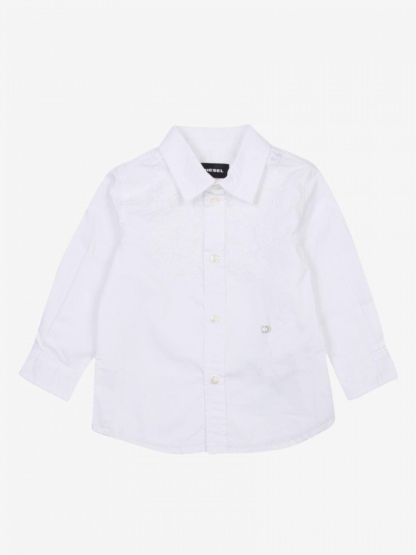Camicia Diesel: Camicia bambino Diesel bianco 1