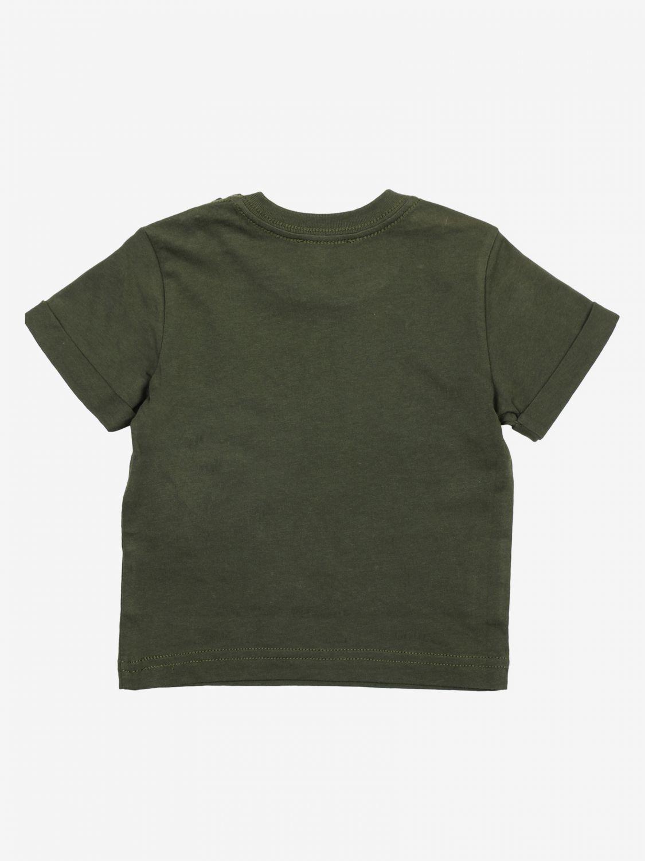 T-shirt bambino Diesel militare 2