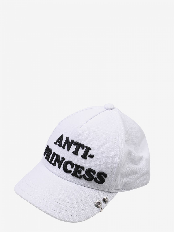 Cappello bimba Diesel: Cappello bimba bambino Diesel bianco 1