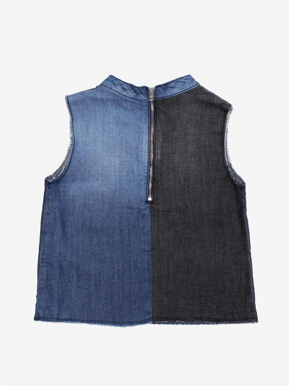 Camicia Diesel: Camicia bambino Diesel denim 2