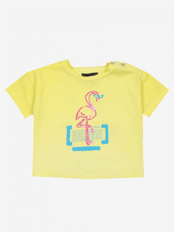 T-shirt Diesel: T-shirt bambino Diesel giallo 1