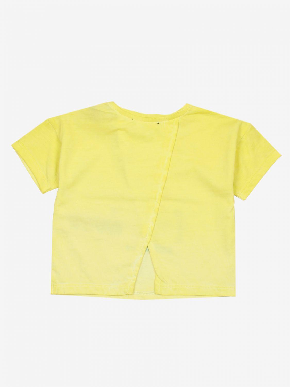 T-shirt Diesel: T-shirt bambino Diesel giallo 2
