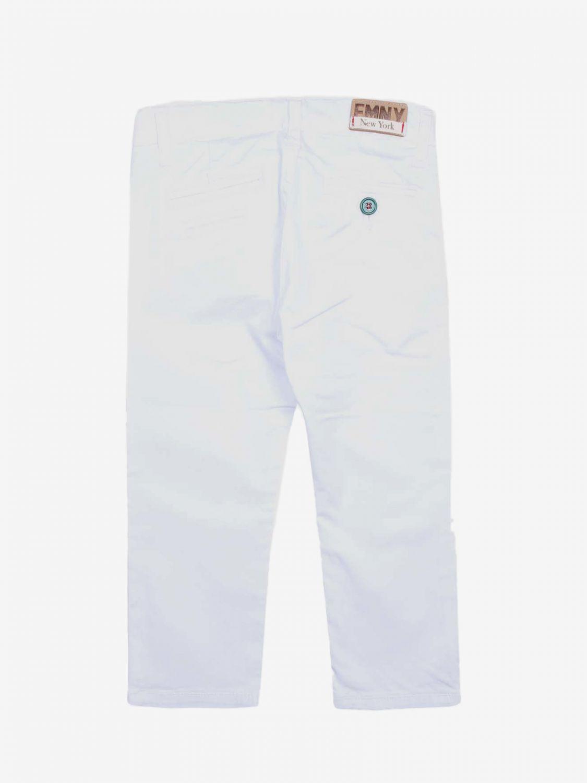 Pantalón niños Fred Mello blanco 2