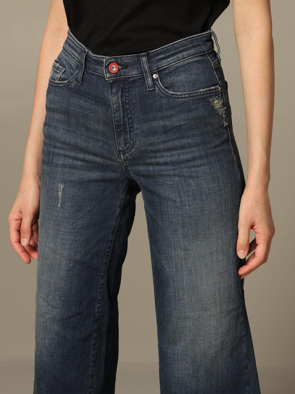 牛仔裤 女士 Armani Exchange 牛仔布 3