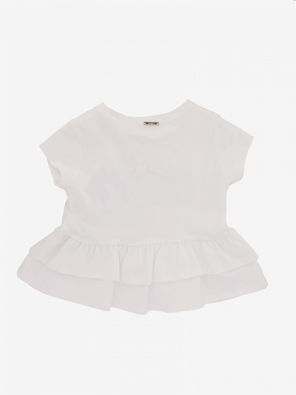 T-shirt Liu Jo con scritta love e nuvoletta bianco 2