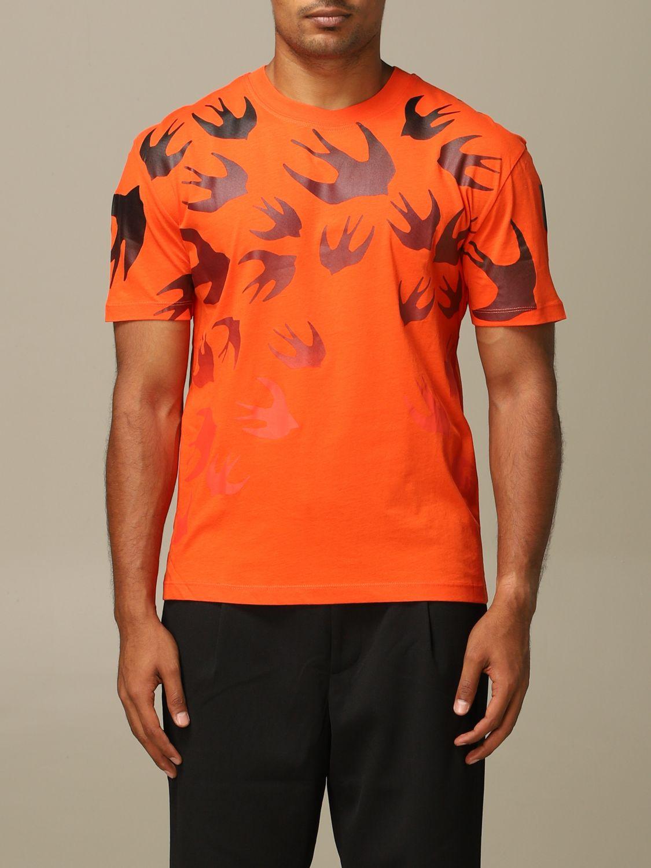 Pullover Mcq Mcqueen: Pullover herren Mcq Mcqueen orange 1