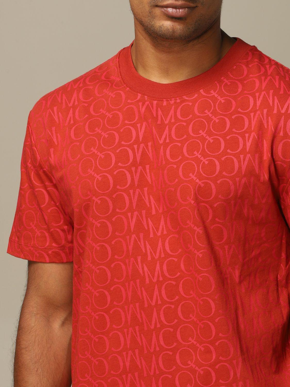 Jersey Mcq Mcqueen: Jersey hombre Mcq Mcqueen color óxido 3