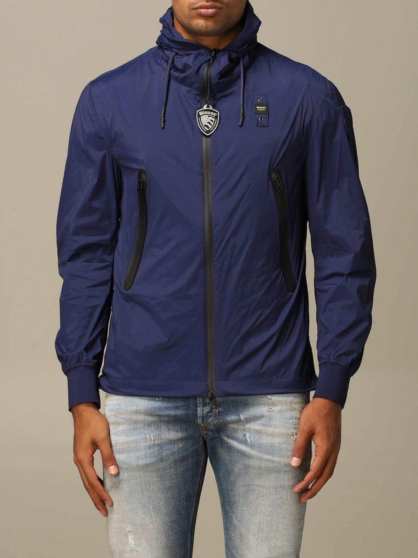 Giacca Blauer: Giacca sportiva Blauer con cappuccio blue 1