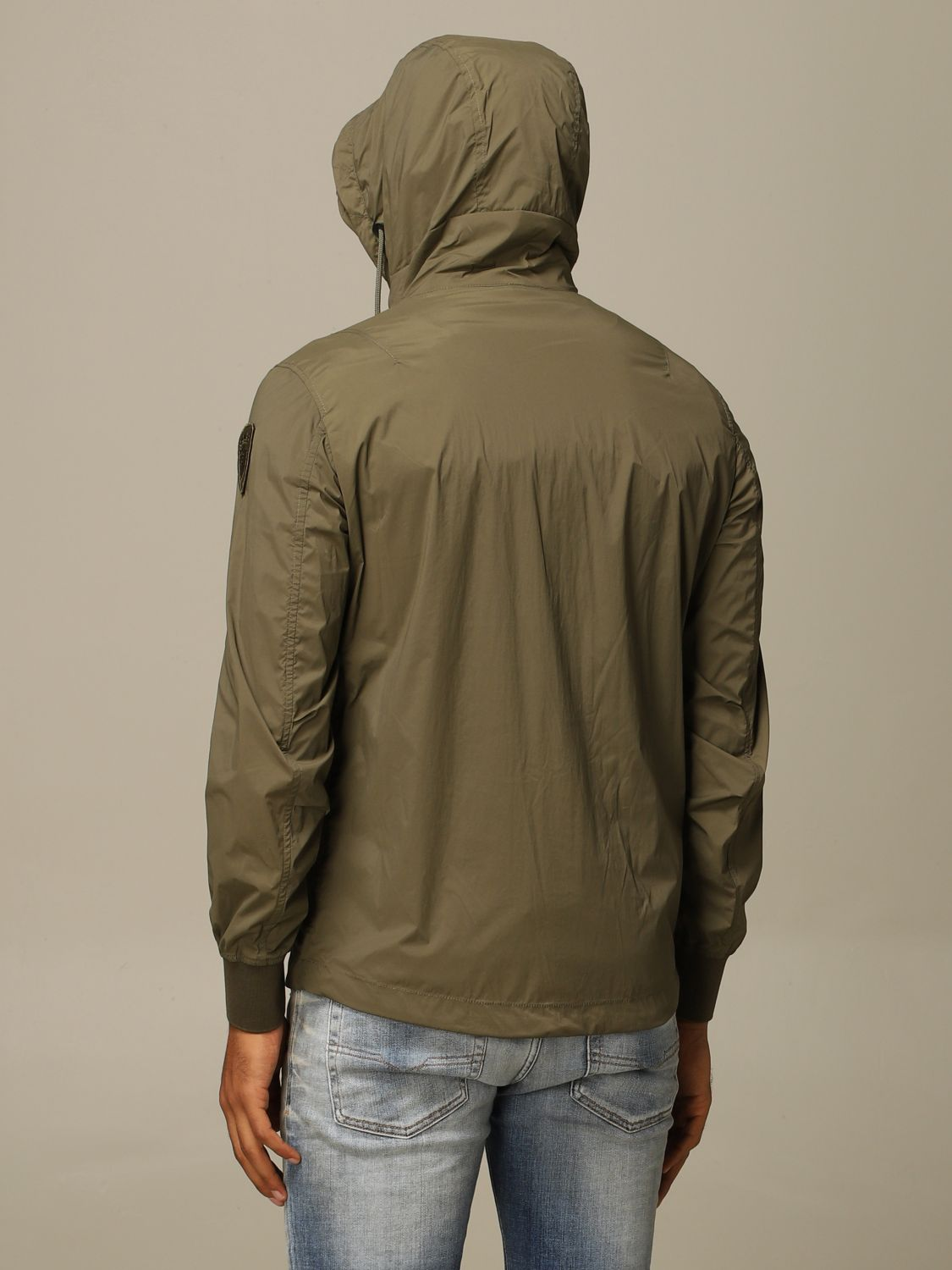 Jacket Blauer: Blauer sports jacket with hood military 2