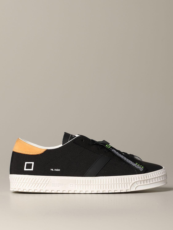 Sneakers D.a.t.e.: Shoes men D.a.t.e. black 1