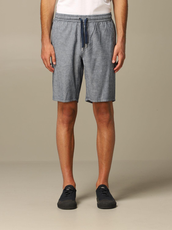 Short Sun 68: Bermuda shorts men Sun 68 navy 1