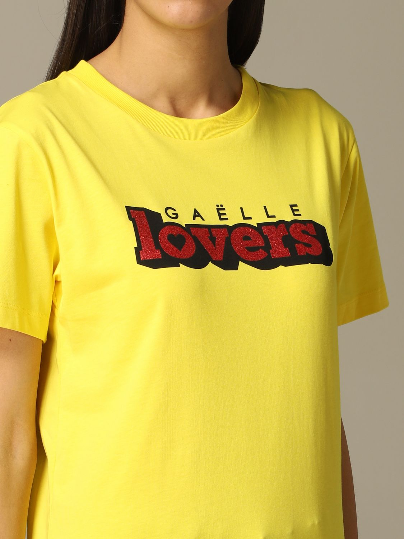 Футболка Gaelle Bonheur: Свитер Женское Gaelle Bonheur желтый 3