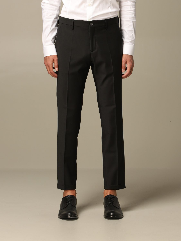Pants Patrizia Pepe: Patrizia Pepe trousers with regular waist black 1