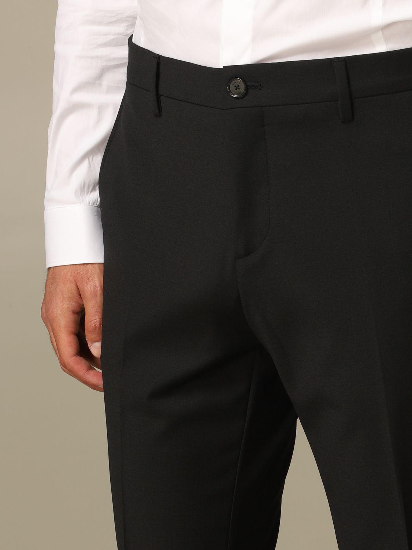 Pants Patrizia Pepe: Patrizia Pepe trousers with regular waist black 3