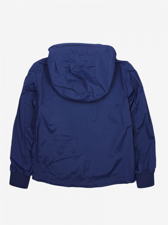 外套 Blauer: Blauer 拉链连帽尼龙外套 蓝色 2