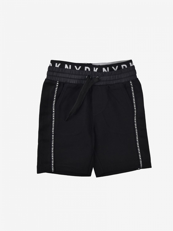 Pantaloncino Dkny: Pantaloncino jogging Dkny con finiture a contrasto nero 1