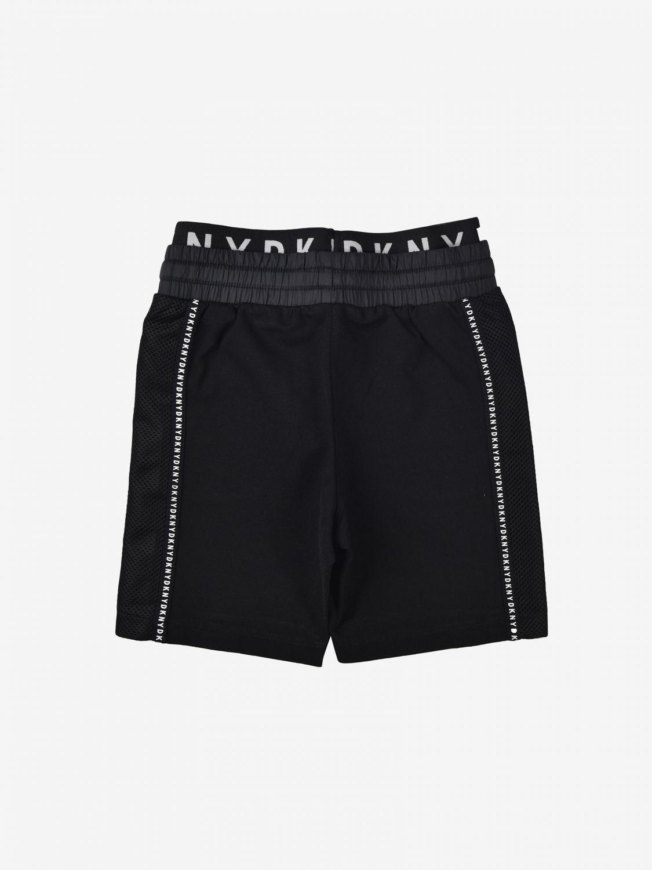 Pantaloncino Dkny: Pantaloncino jogging Dkny con finiture a contrasto nero 2