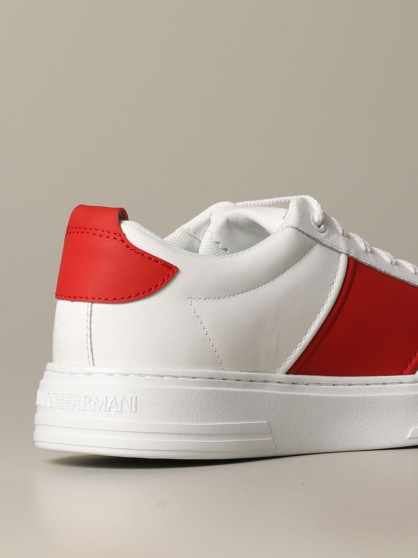 Sneakers Emporio Armani: Sneakers herren Emporio Armani weiß 3