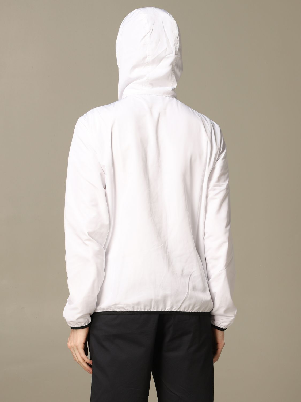 Abrigo Ea7: Abrigo hombre Ea7 blanco 2