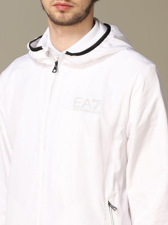 Abrigo Ea7: Abrigo hombre Ea7 blanco 3