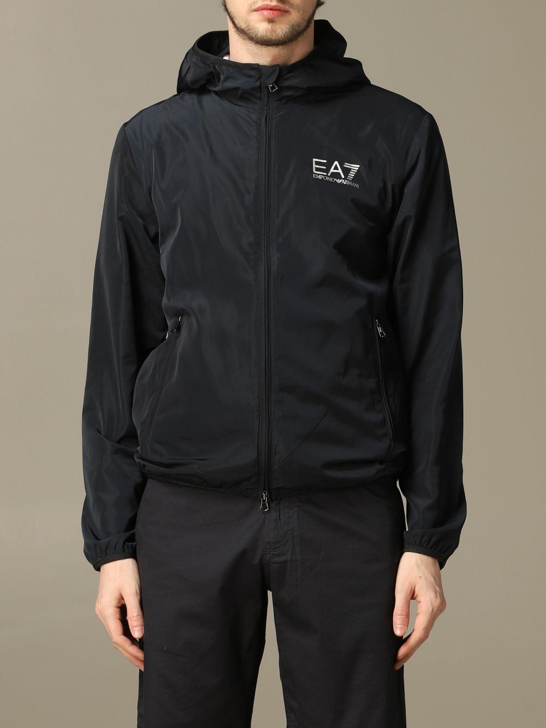 Coat Ea7: Coat men Ea7 navy 1