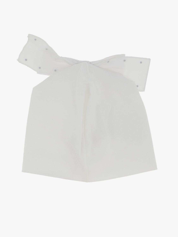 Шапка для девочек Детское Miss Blumarine белый 2