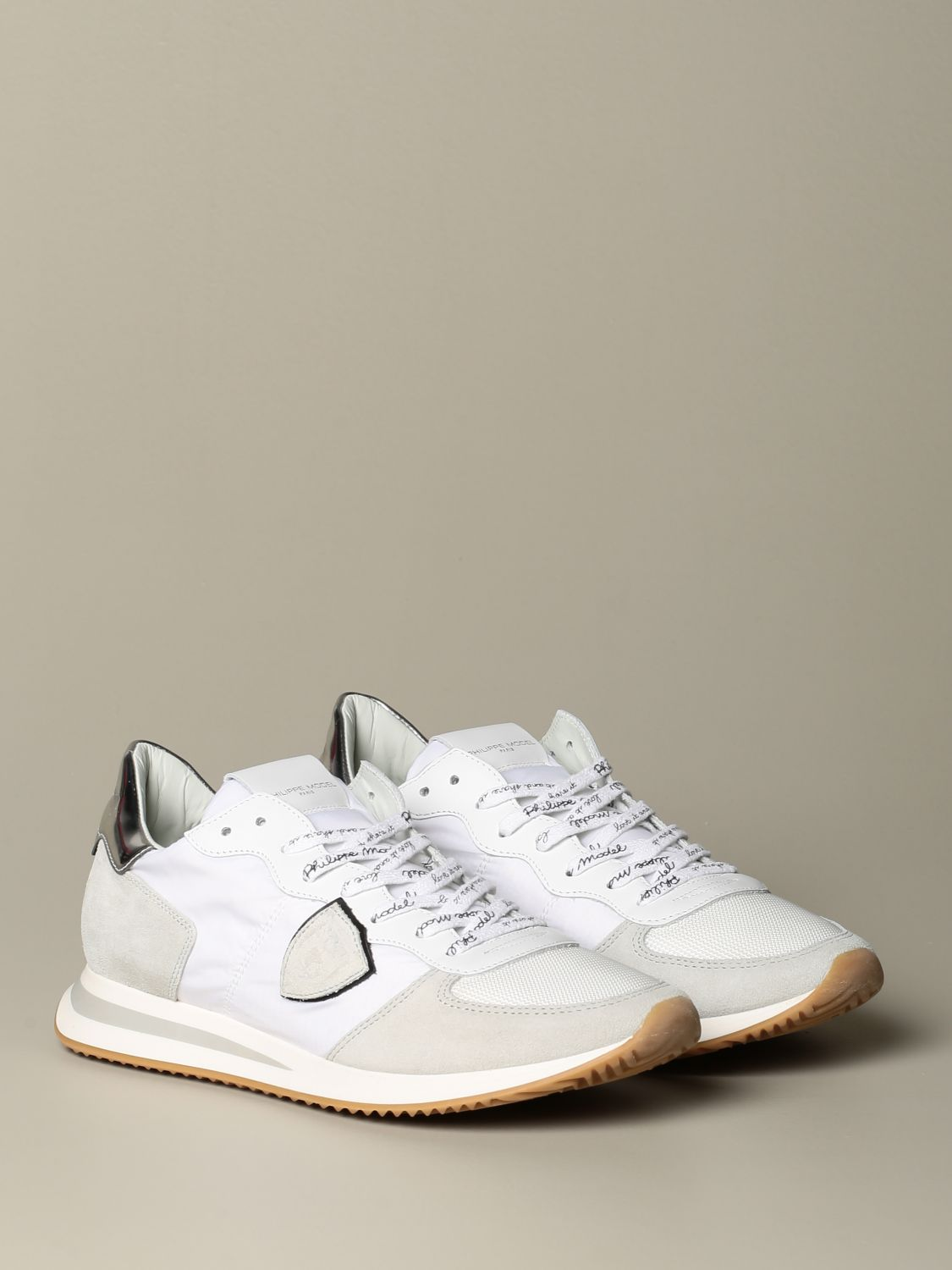 Trainers Philippe Model: Trainers men Philippe Model white 2
