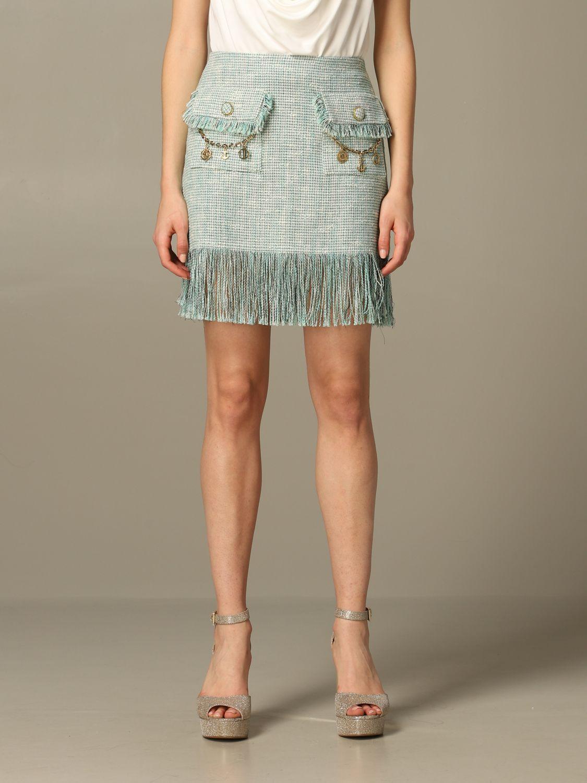 半身裙 女士 Elisabetta Franchi 绿色 1