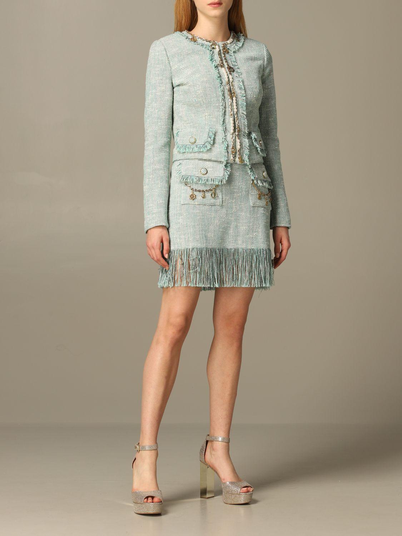 半身裙 女士 Elisabetta Franchi 绿色 2