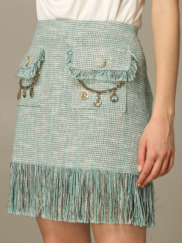 半身裙 女士 Elisabetta Franchi 绿色 4