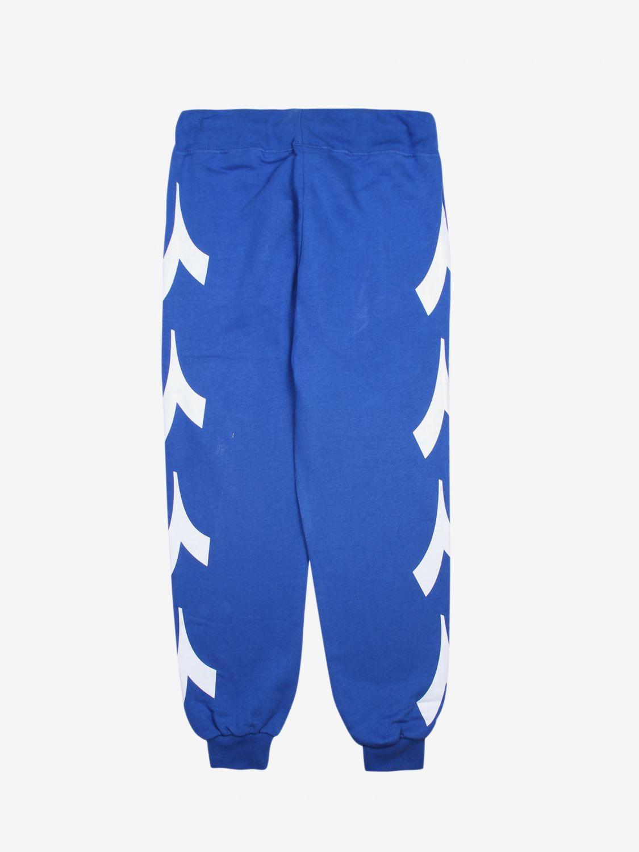 Pantalón niños Diadora royal blue 2