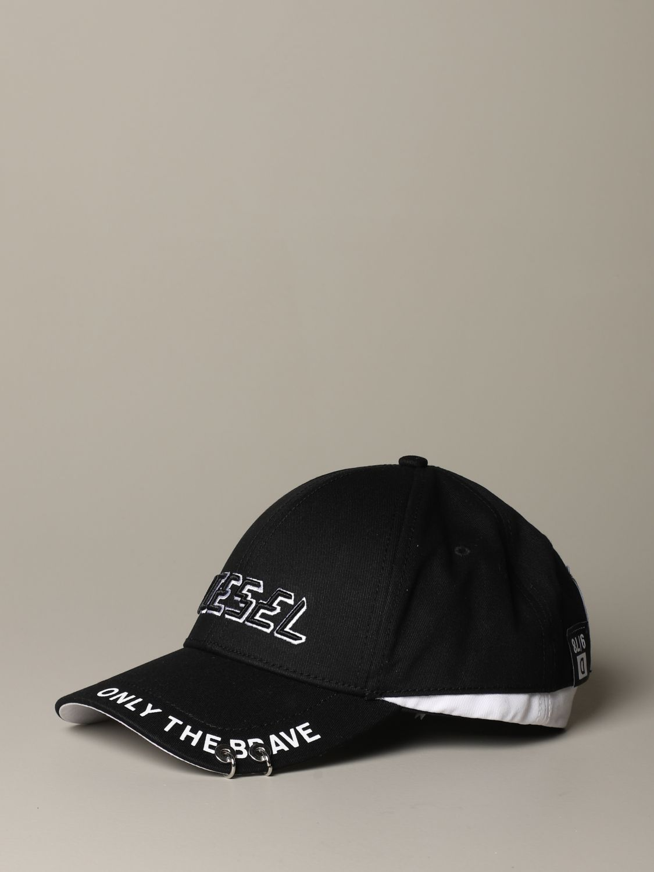 Cappello Diesel: Cappello uomo Diesel nero 1