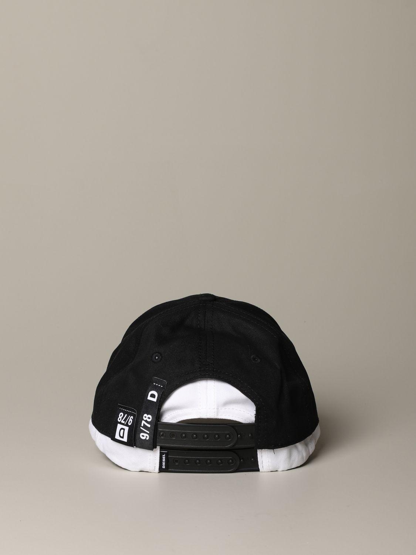 Cappello Diesel: Cappello uomo Diesel nero 3